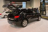 2015 Acura Mdx  At The Orange County International Auto Show