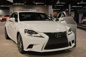 2015 Lexus Is 250 At The Orange County International Auto Show