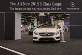 Mercedes-benz Stand At The Orange County International Auto Show
