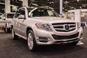 2015 Mercedes-benz Glk At The Orange County International Auto Show