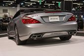 2015 Mercedes-benz Cl 63 At The Orange County International Auto Show