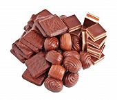 Chocolate candies