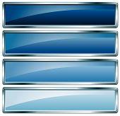 Metallic Frame Blue