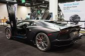 2015 Lamborghini Aventador At The Orange County International Auto Show