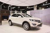 2015 Lincoln Mkc At The Orange County International Auto Show