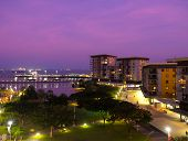 Darwin Waterfront At Sunset, Australia