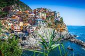 Cinque Terre, Italy - Manarola Colorful Fishermen Village