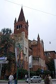 Church Of St. Anastasia In Verona, Italy