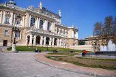 Opera And Ballet Theater In Odessa, Ukraine