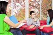 Couple Quarreling When Consult