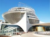 MONTREAL CANADA MAY 29, 2014: Casino of Montreal, is the largest casino in Canada and located into the French pavillon from Expo67.  It opened October 9, 1993.
