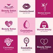 Beauty Salon Icons Vector Set
