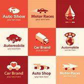 Car Icons Vector Set