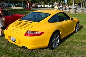 Yellow Porsche 911 Carrera