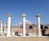 Ruins Basilica St. John Selcuk Turkey