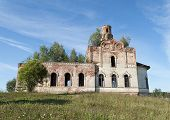 Destroyed Old Orthodox Church
