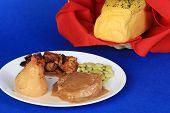 Pork Chop With Pear