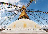 Buddhist Temple Bodhnath