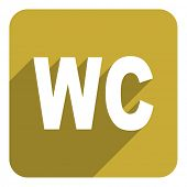 wc flat icon