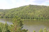 River landscape Kahn