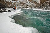 Frozen river trek Zanskar (Chaddar) -1