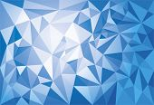 Abstract modern geometric polygonal background. Duotone EPS 10 file for easy editing.