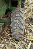 Large Rear Rubber Tractor Tire