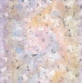 Beautiful Squared Mosaic In Soft Pastel Spectrum