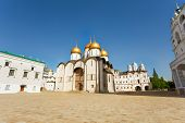 Assumption Cathedral in Moscow Kremlin, Russia