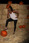 LOS ANGELES - OCT 4:  Erica Ash at the RISE of the Jack O'Lanterns at Descanso Gardens on October 4, 2014 in La Canada Flintridge, CA