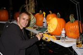 LOS ANGELES - OCT 4:  Ray Villafane at the RISE of the Jack O'Lanterns at Descanso Gardens on October 4, 2014 in La Canada Flintridge, CA