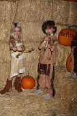 LOS ANGELES - OCT 4:  McKenna Grace, August Maturo at the RISE of the Jack O'Lanterns at Descanso Gardens on October 4, 2014 in La Canada Flintridge, CA