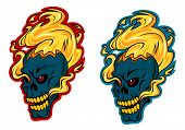 Blazing skulls characters