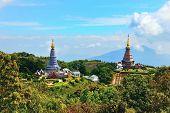 Pagoda Of Doi Inthanon.