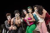 Crying Cirque Clowns