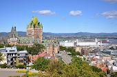 Quebec City skyline, Quebec, Canada