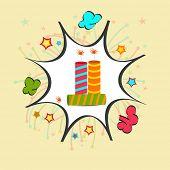 Diwali celebration with exploding crackers.