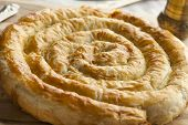 Moroccan mhanncha, Snake Shaped Pastry