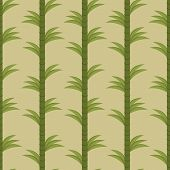Seamless background with bamboo forest