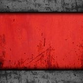 background red metal texture iron grunge wall old