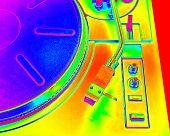 Turntable, Solarization Color