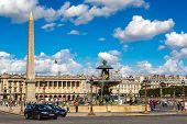 picture of obelisk  - PARIS FRANCE  - JPG