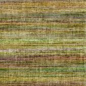 Old texture with delicate abstract pattern as grunge background. With different color patterns: yellow (beige); brown; gray; green
