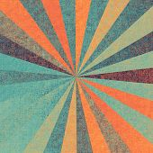 Old-style background, aging texture. With different color patterns: blue; cyan; red (orange); purple (violet)