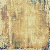 Old grunge template. With different color patterns: yellow (beige); brown; gray