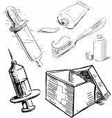 Medical equipment.