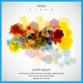 Abstract vector design elements.