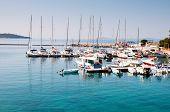 Small Coastal Town Of Greek