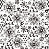 Fantasy Special Geometric Seamless Pattern