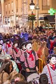 Mime In Carnival